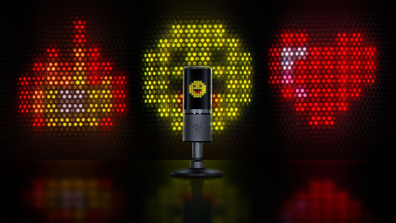 New Streaming Mic Displays Emoticons, Because Why Not