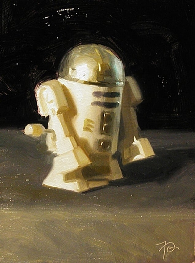 Paintings by Frank Ordaz: Co-creator of Star Wars' original artwork