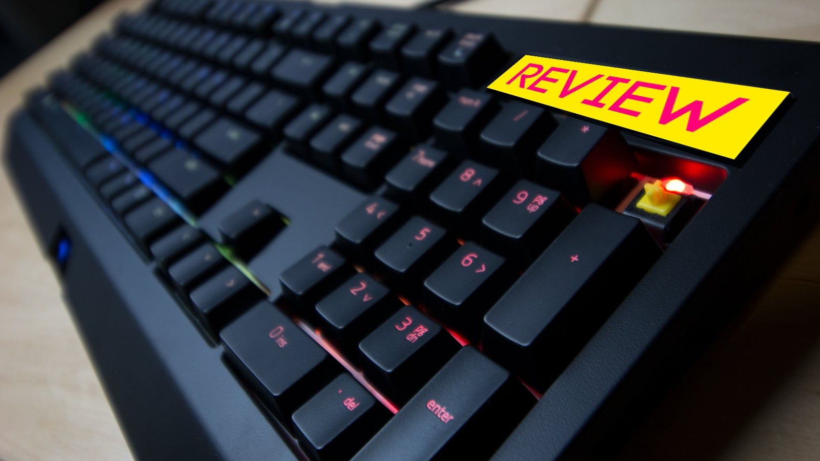 Razer Blackwidow Chroma V2 Yellow Review: Going For Speed