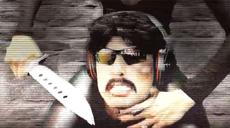 Dr. Disrespect Will Be Back Next Month
