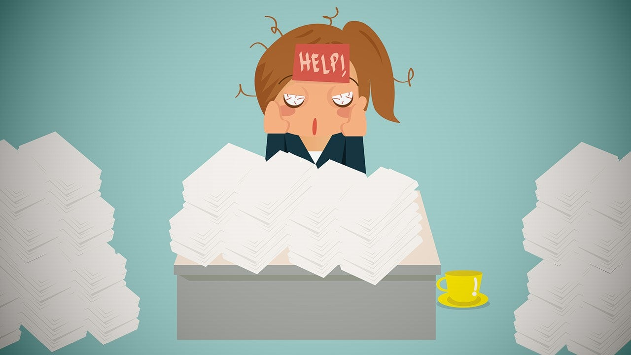 How to Overcome Workload Paralysis and Get Back into Action