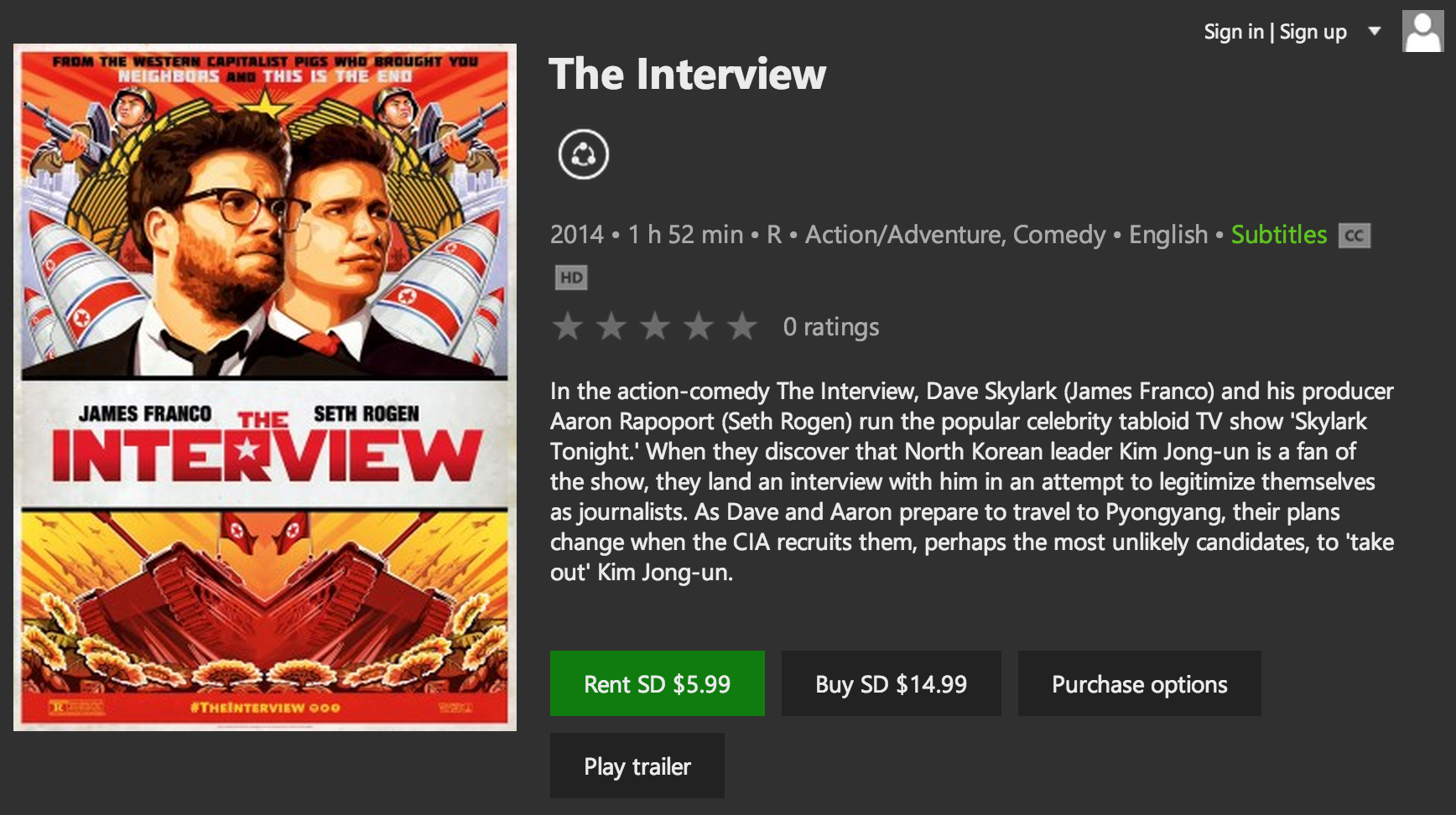 You Can Stream The Interview Right Now, Here's How