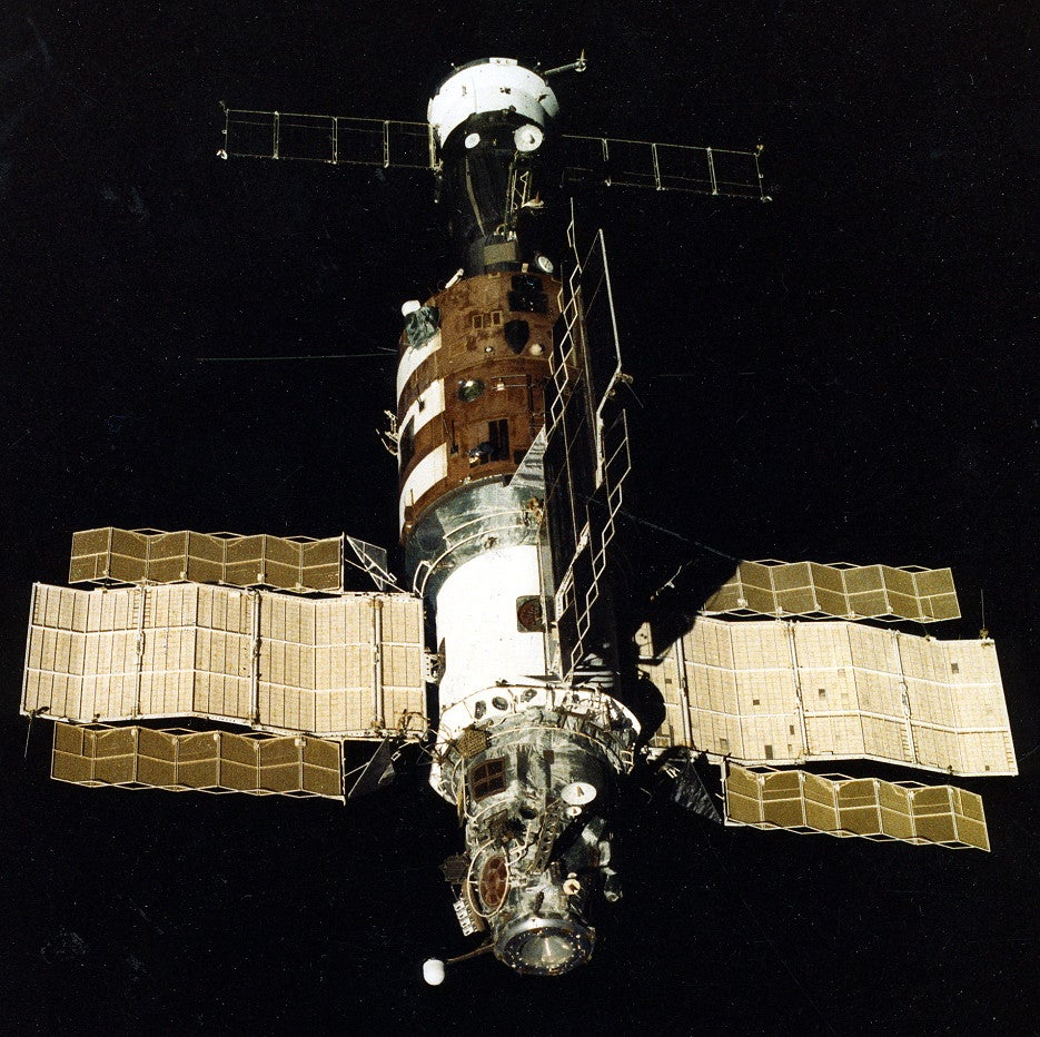 Salyut 7: The Last and Longest-Running Soviet Space Station (Until Mir)