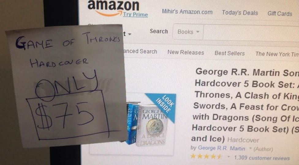 Set A Post-It Note Dollar Limit Before Shopping Online