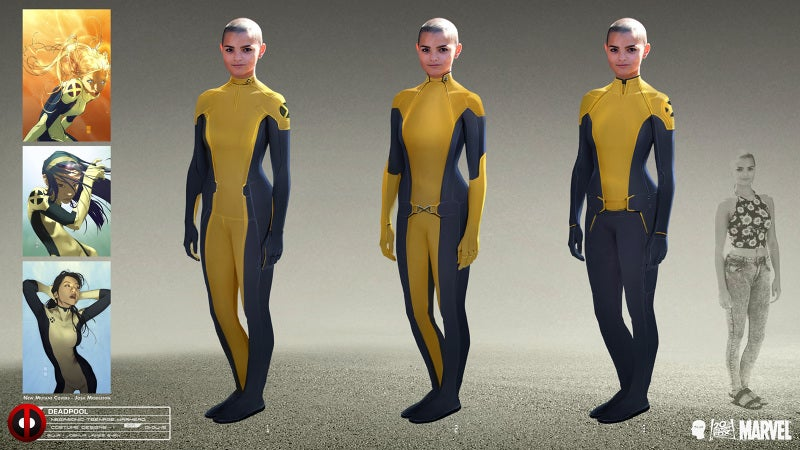 This Deadpool Concept Art Will Make You Love Negasonic Teenage Warhead Even More