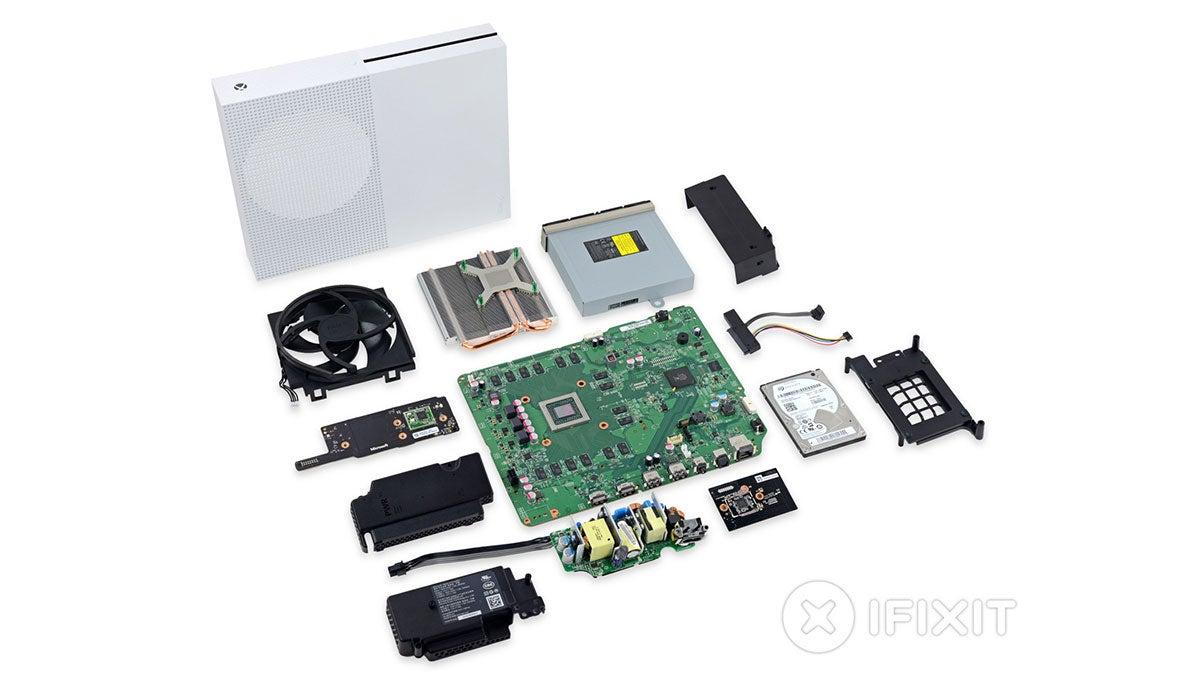 What S Inside The Xbox One S Kotaku Australia
