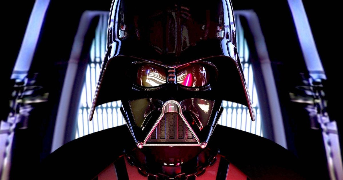 Darth Vader and David Goyer Team Up for Star Wars' Next VR Project