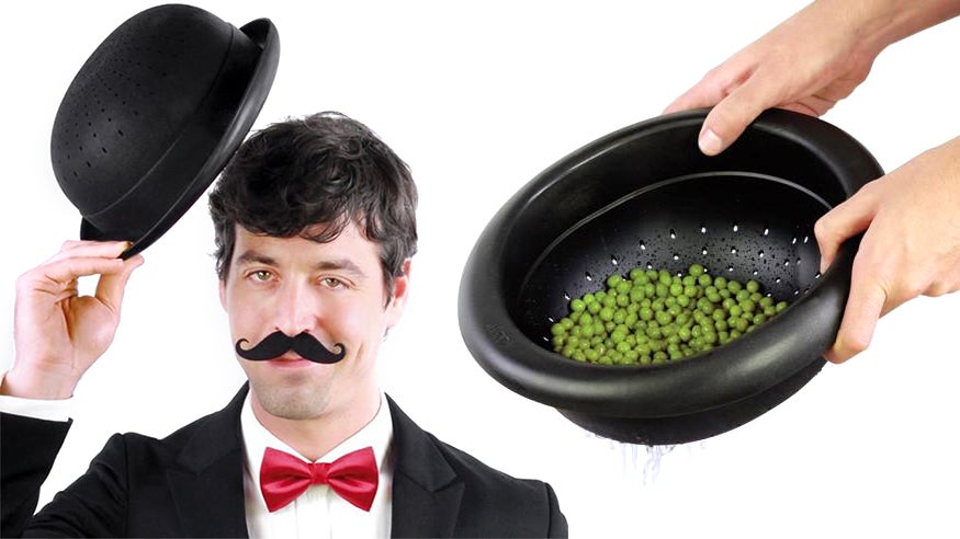 You Can Wear This Fashionable Strainer As A Hat