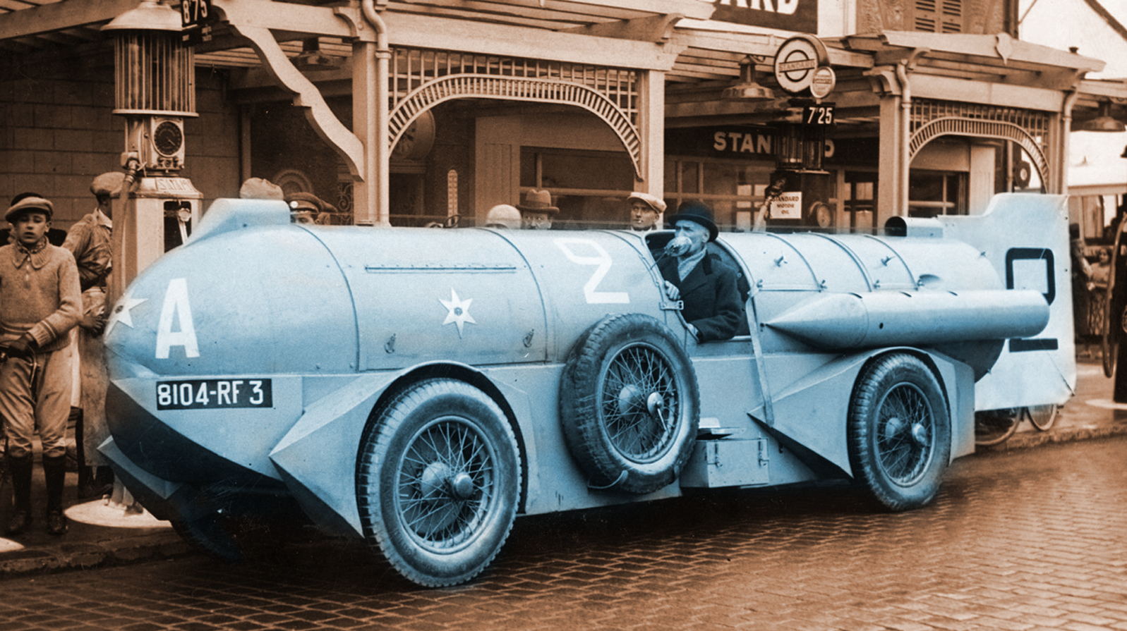 It's Time To Learn About The Mystery Of The Insane Locomotive-Like 1932 Stapp Land Speed Record Car