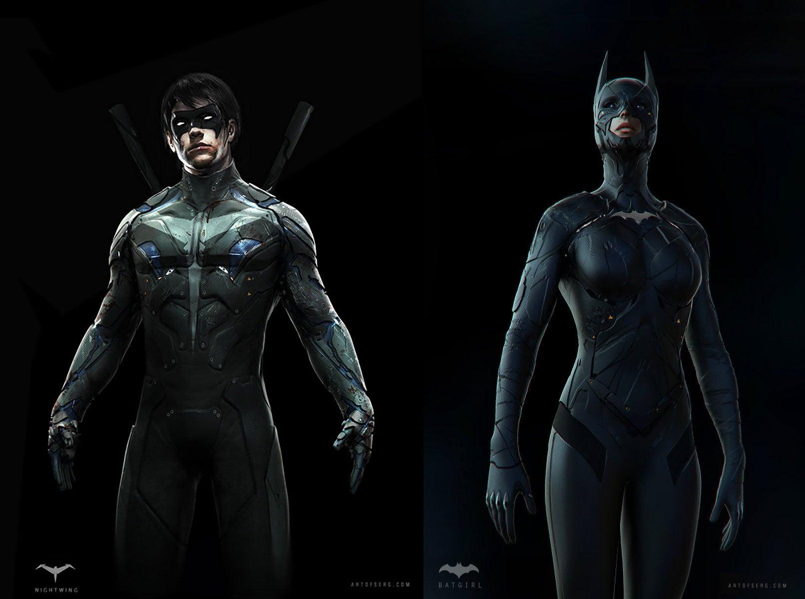 Designing Batgirl To Fit Chris Nolan's Batman Movies