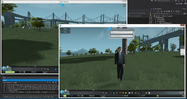 A Multiplayer Mod For...Cities: Skylines?