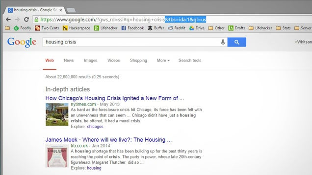 Find In-Depth Articles on Google with a URL Trick
