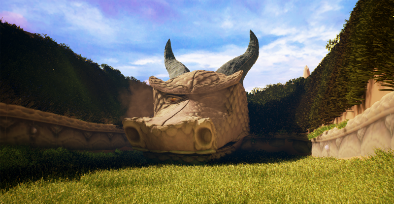 The First Stage of Spyro the Dragon In Unreal Engine 4