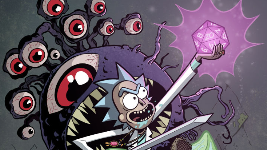 Rick And MortyAre Going To Save The Universe With A Game OfDungeons & Dragons
