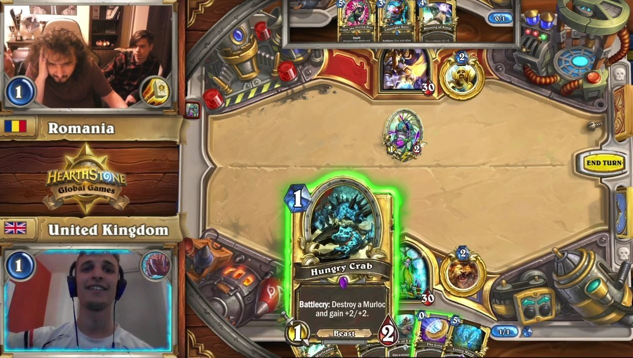 Hearthstone's Formerly Garbage 'Hungry Crab' Is Making A Comeback