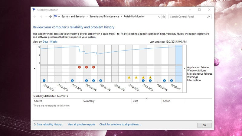 How to Troubleshoot Windows 10 with Reliability Monitor