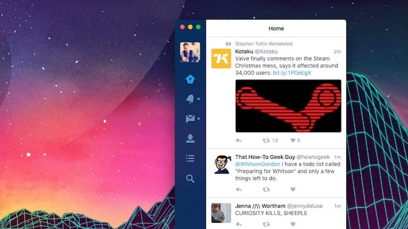Twitter For Mac Finally Gets Updated To Support Twitter's Newer Features