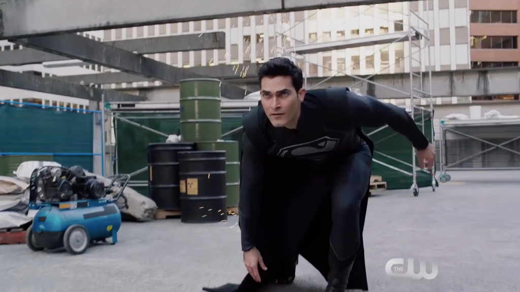 Superman's Iconic Black Suit Is The Star Of The Newest Elseworlds Trailer