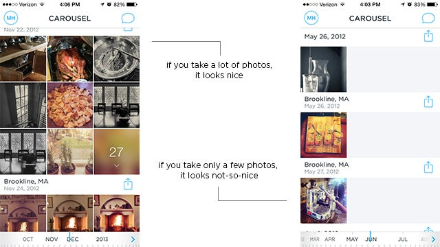 Dropbox Carousel Hands On: So Many Swipes, So Little Time
