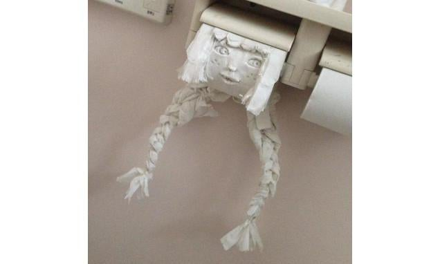 Oh Hi, Terrifying Toilet Paper