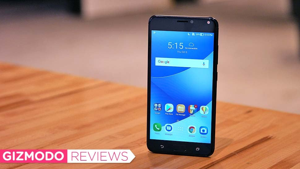 Asus ZenFone 4 Max: The Gizmodo Review