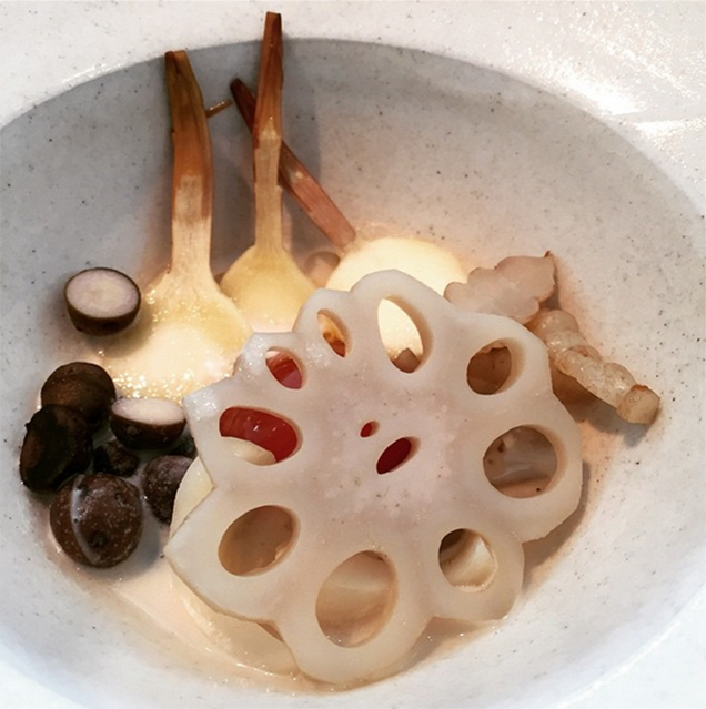 This is now the world's best restaurant's menu after moving to Japan