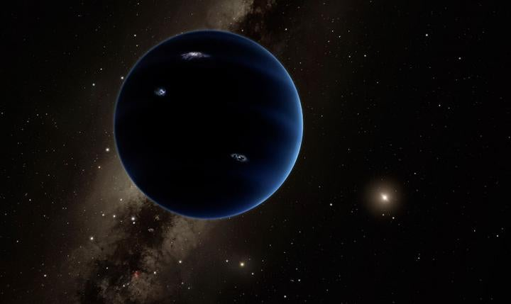 Planet Nine Just Got Weirder