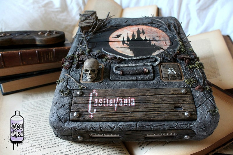 Custom SNES Is An Homage To Everything Castlevania