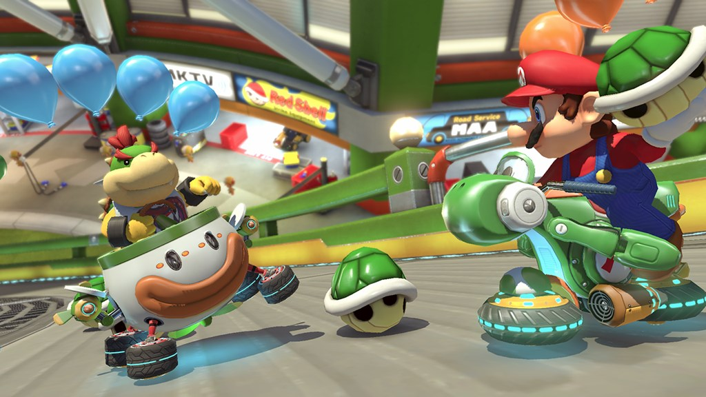 Mario Kart 8 Player Wins Tiebreaker With Clutch Last-Second Green Shell