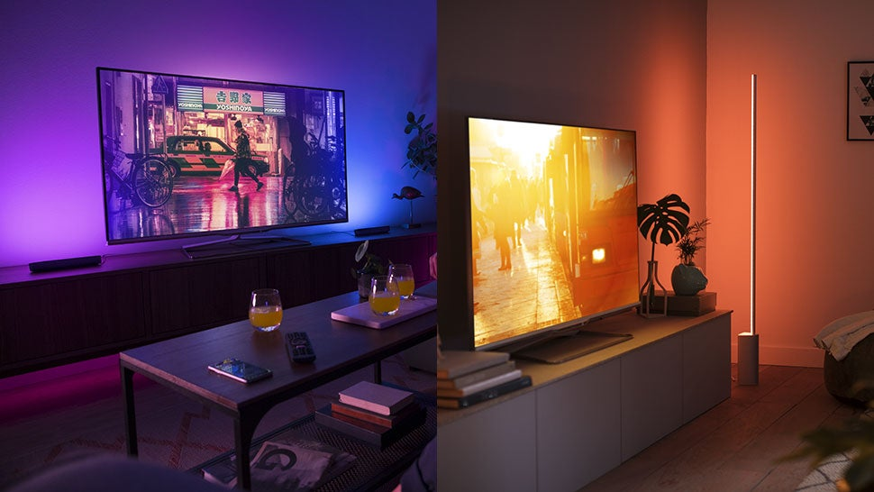 Philips Hue's New Lamps Look Like The Slickest Way To Throw Colours On Your Walls