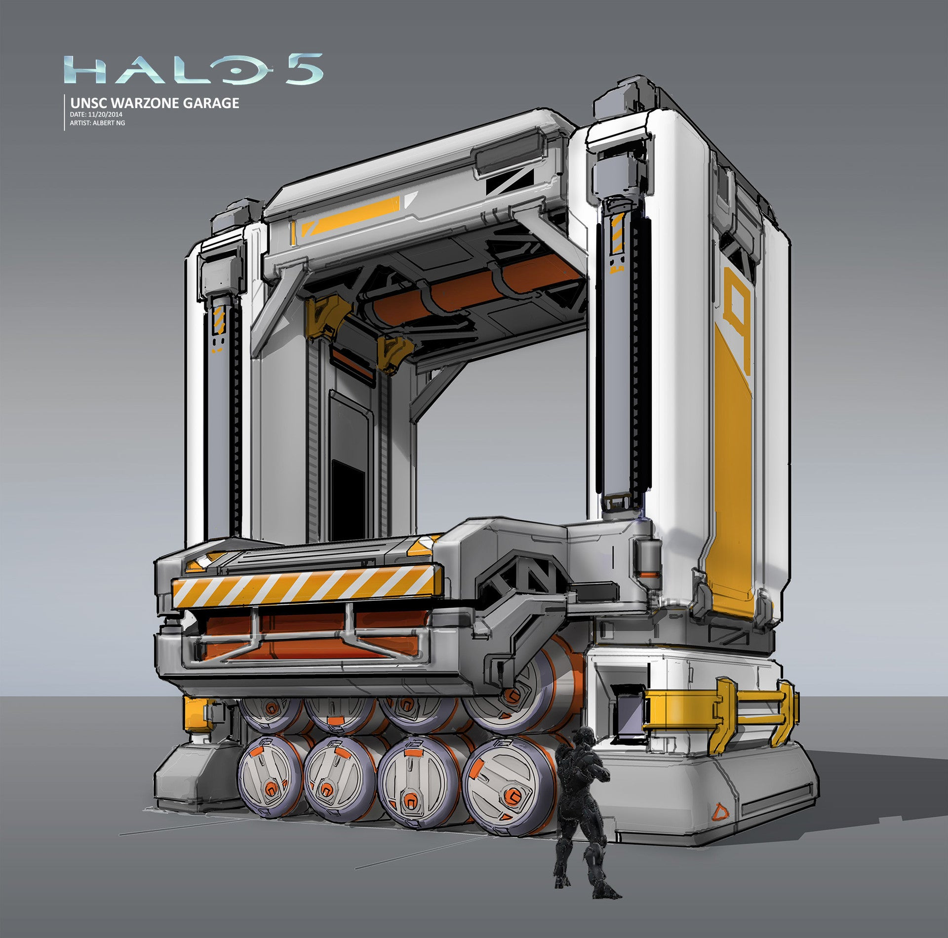 The Spaceships And Spartans Of Halo 5
