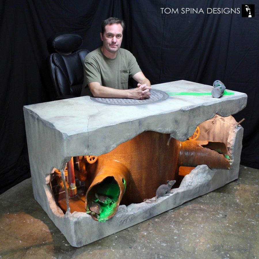 Teenage Mutant Ninja Turtles Desk