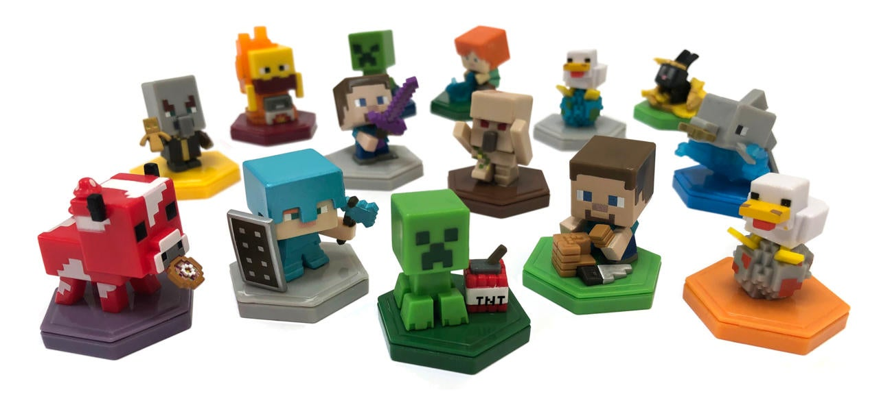 Mattel Is Making Cute Mini NFC-Enabled Toys For Minecraft Earth