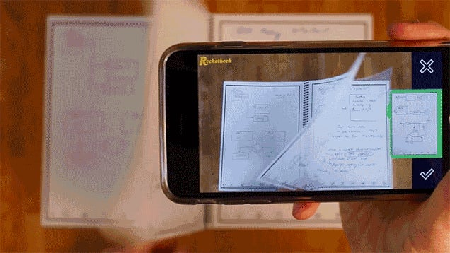 Just Toss This Digitized Notebook In the Microwave to Erase Every Page