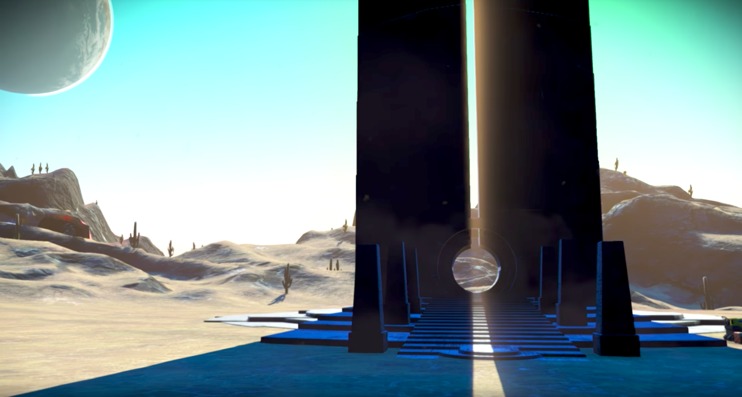 How To Get To The Galactic Hub In No Man's Sky