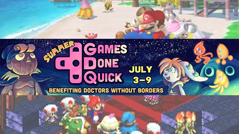 Watch The Week-Long Summer Games Done Quick Charity Speedrun Marathon