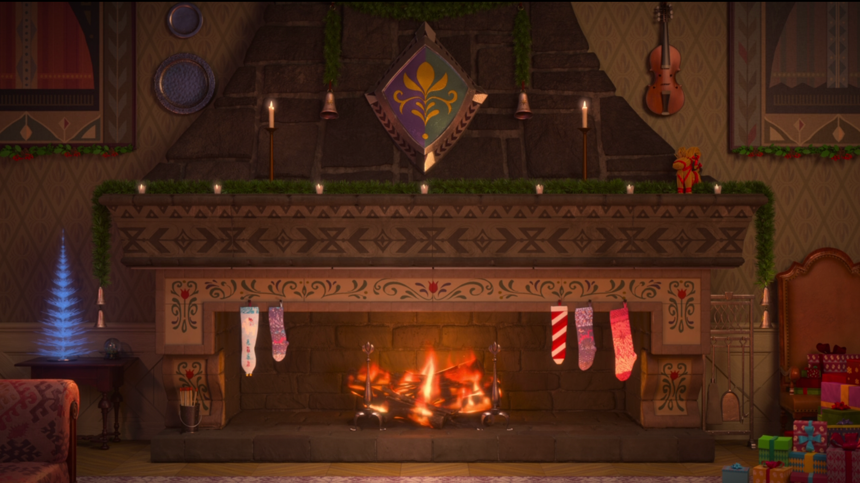 Find Your Nerdy Holiday Yule Log Here