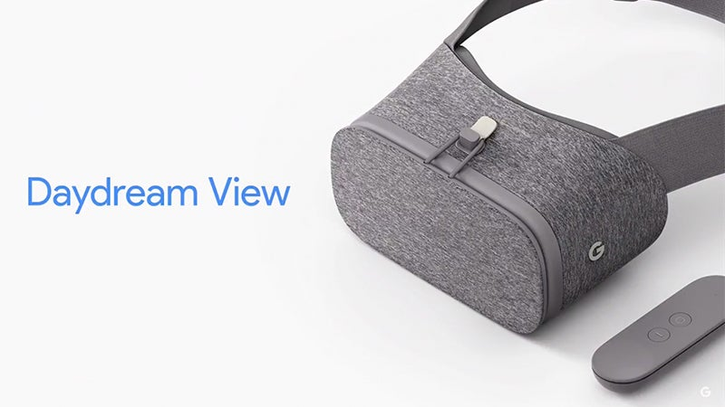 Google's Daydream View Is A Super Soft, Super Light VR Headset For $119