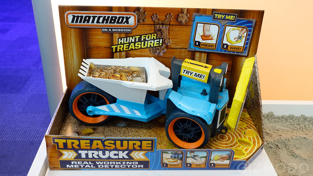 There's a Working Metal Detector On This Treasure-Hunting Toy Truck