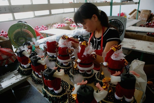 A Single Chinese Town Makes Most of the World's Christmas Decorations