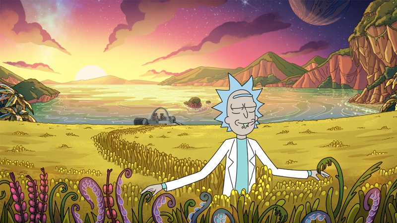 The First Pictures From Rick And Morty Season 4 Are Uncharacteristically Blissful