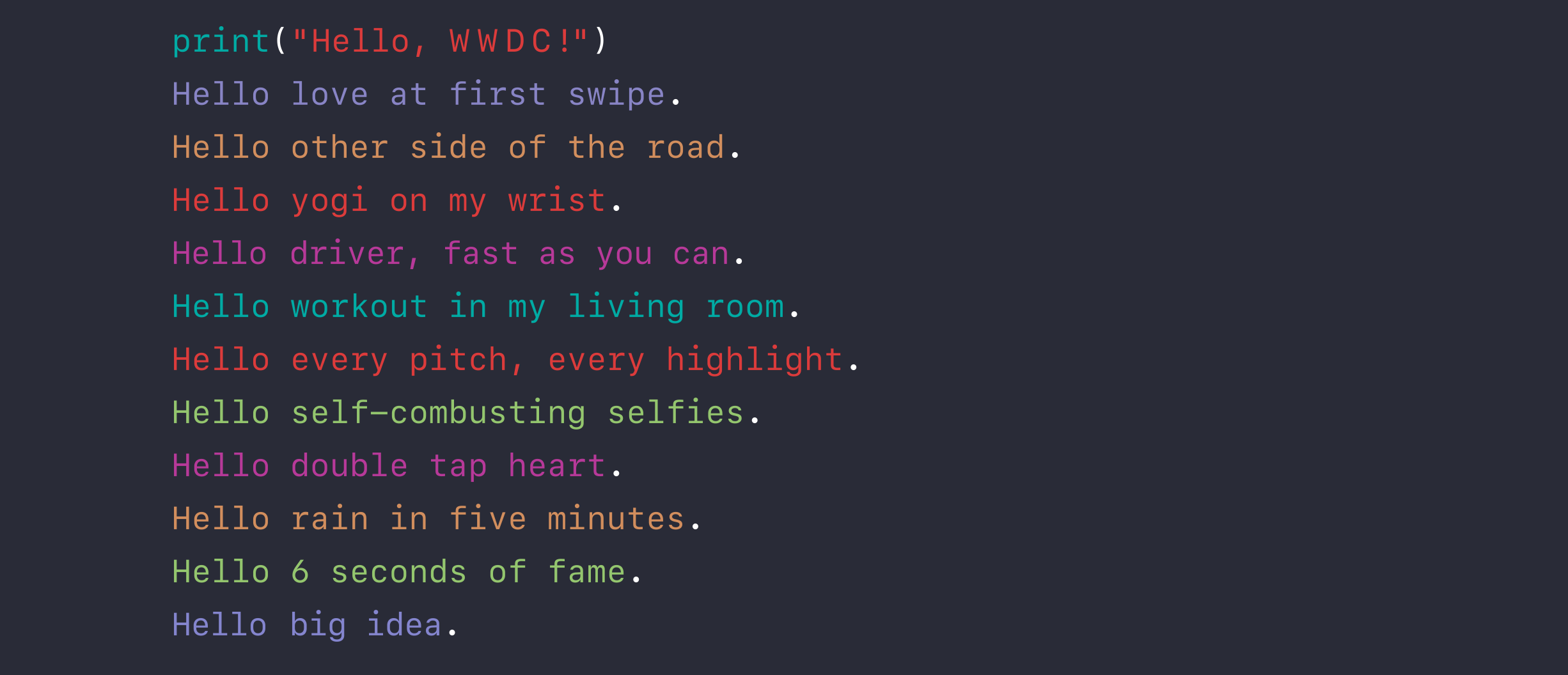 Yep, Apple's WWDC 2016 Definitely Starts On June 13