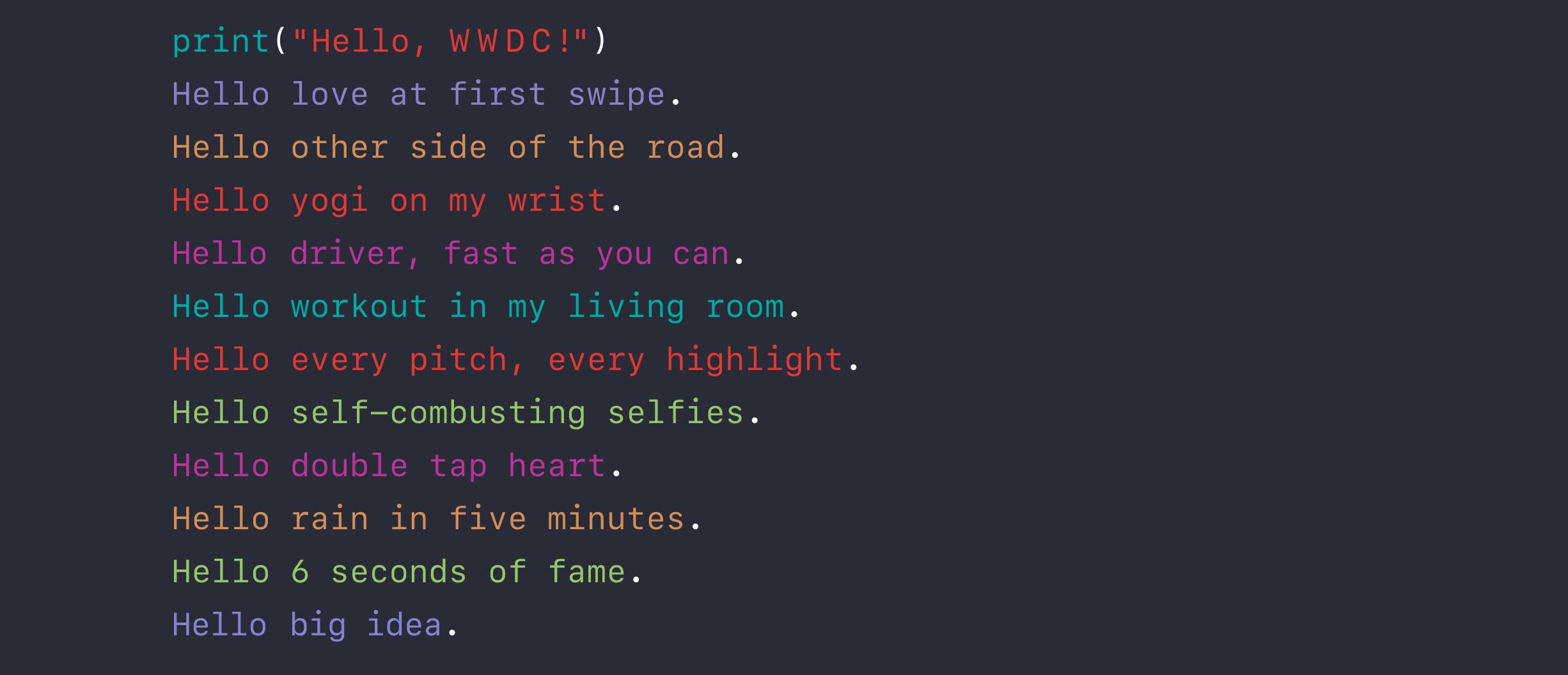 Yep, Apple's WWDC 2016 Definitely Starts on June 13th