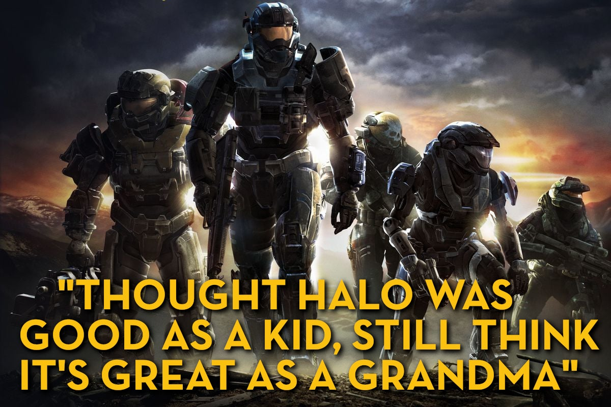 Halo: Reach, As Told By Steam Reviews