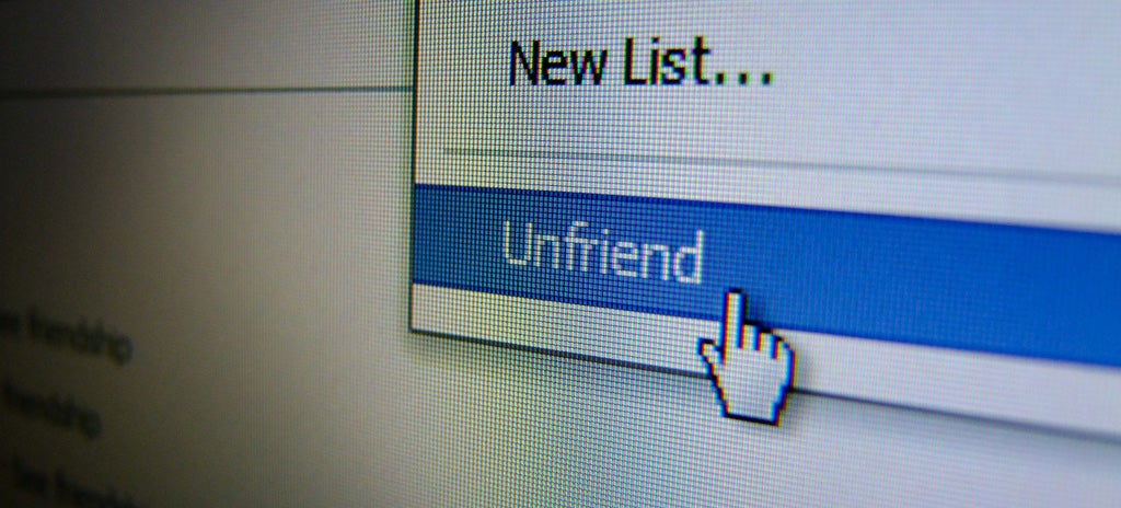 The Top Five Types of People We All Unfriend on Facebook