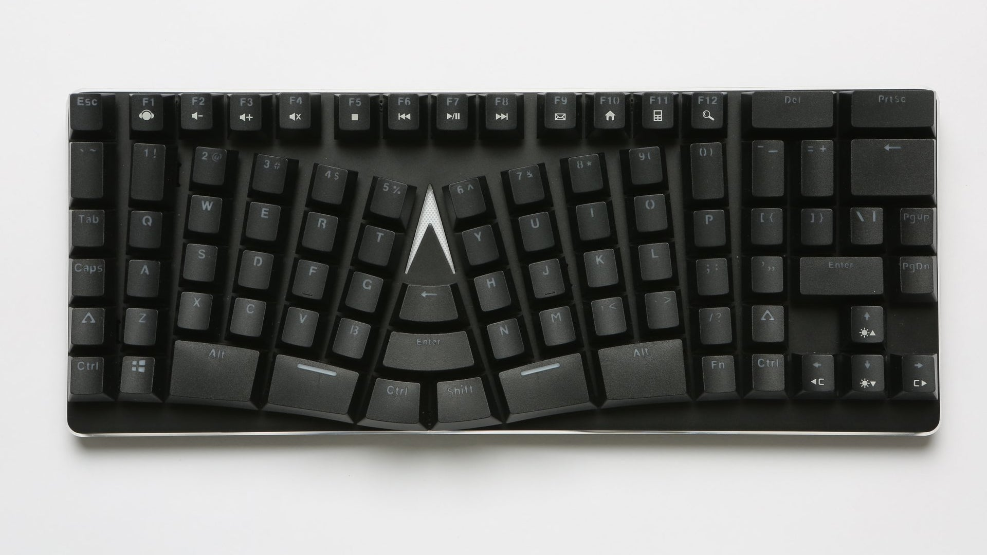 This Weird Warped Keyboard Actually Makes A Lot Of Sense
