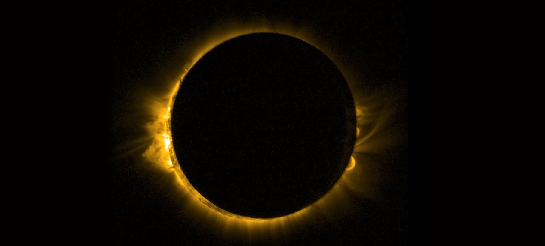 This Is What Europe's Solar Eclipse Looked Like From Space