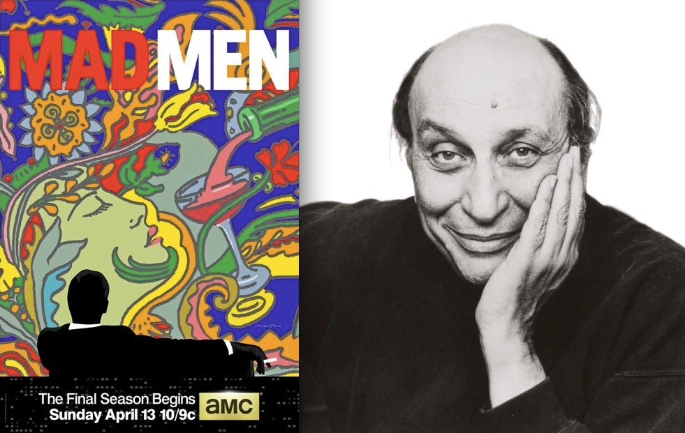 Mad Men-era Legend Milton Glaser Designed the New Posters for Mad Men