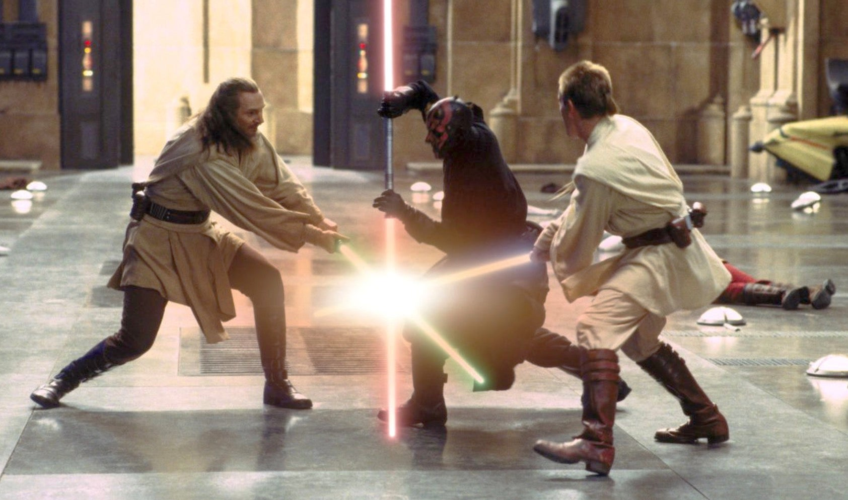 George Lucas Says The Phantom Menace Is One Of His Favourite Films