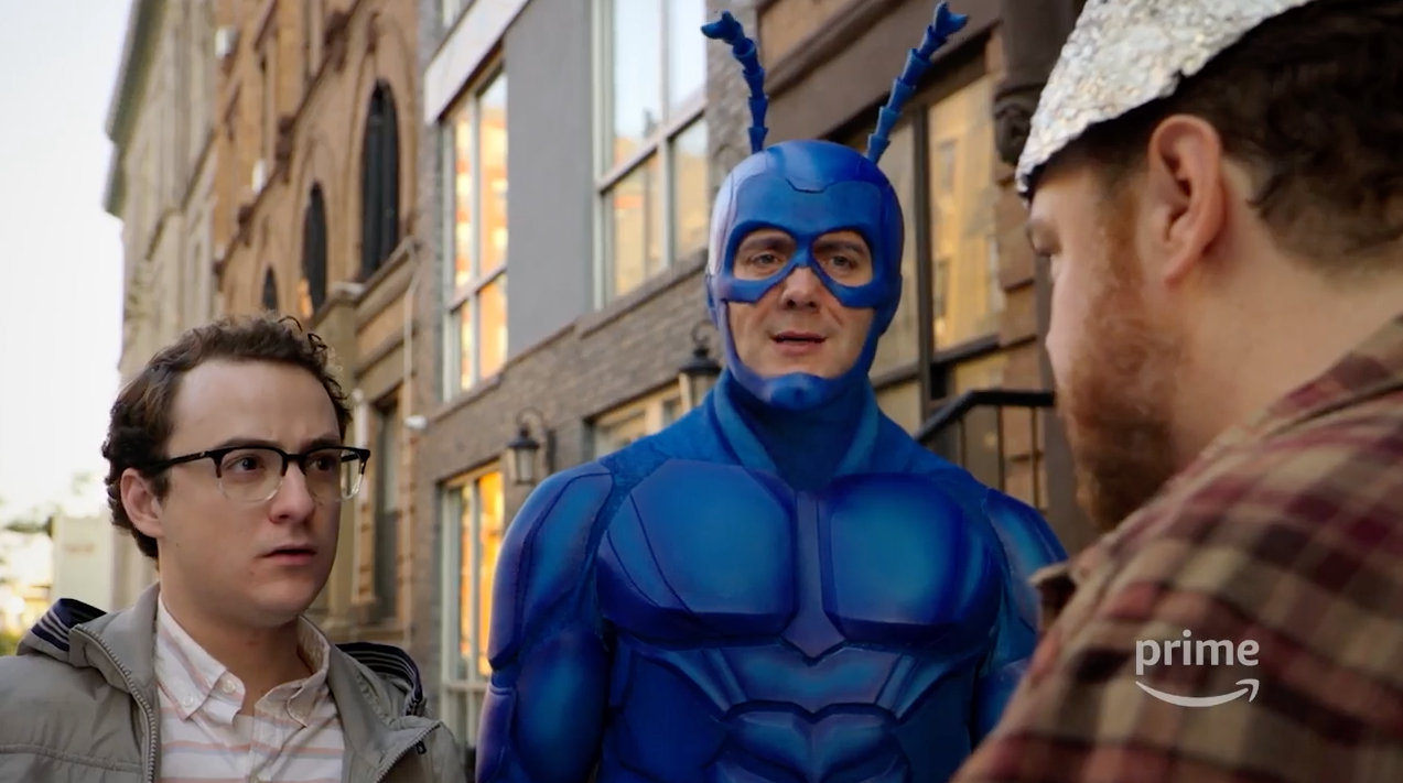 The Tick's Going To Form A Wacky Superteam When His Show Comes Back In February